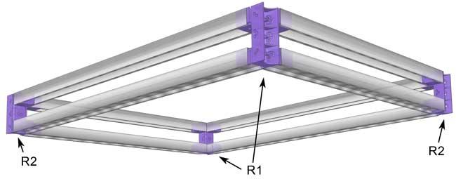 Tutoriel comment fabriquer un coffre for Fabriquer un plafond suspendu