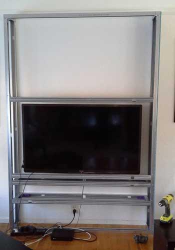 Fabriquer un meuble tv de style scandinave - Creer un meuble tv ...