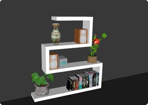 tutoriel comment fabriquer l 39 tag re zigzag. Black Bedroom Furniture Sets. Home Design Ideas