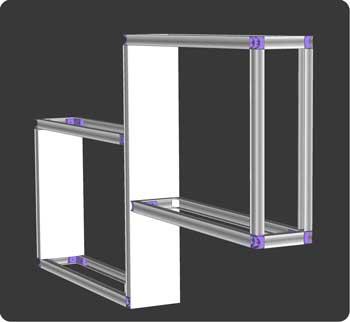 tutoriel comment fabriquer des tag re doubles. Black Bedroom Furniture Sets. Home Design Ideas