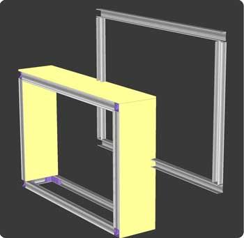 tutoriel comment fabriquer des tag re doubles crois es. Black Bedroom Furniture Sets. Home Design Ideas