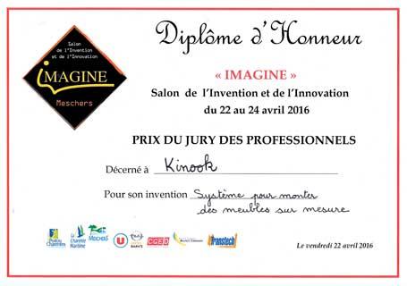 Salon de l 39 invention et de l 39 innovation kinook for Salon de l innovation