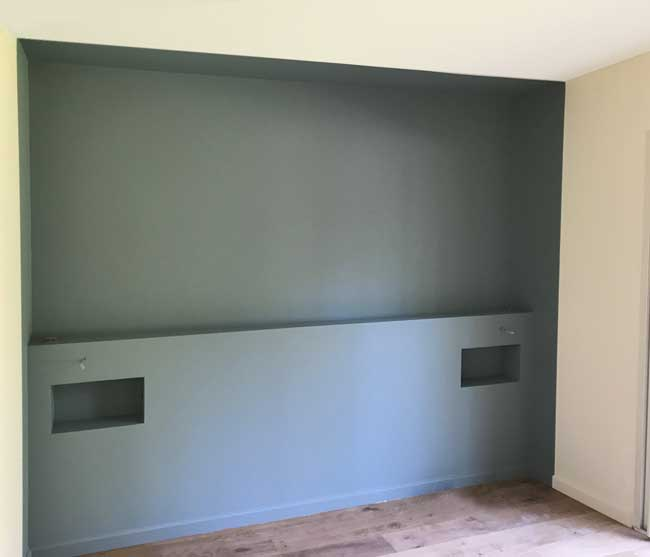plan t te de lit. Black Bedroom Furniture Sets. Home Design Ideas