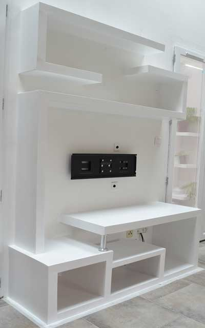fabriquer un meuble tv. Black Bedroom Furniture Sets. Home Design Ideas