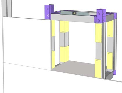 tutoriel comment fabriquer une niche en placo. Black Bedroom Furniture Sets. Home Design Ideas
