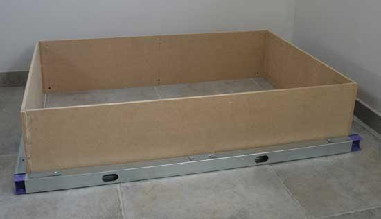 Comment fabriquer une console for Fabriquer meuble mdf