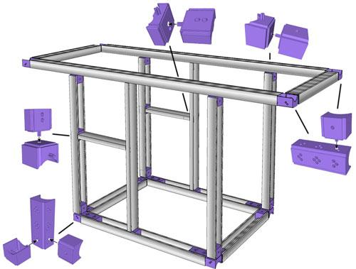 fabriquer une desserte pour plancha. Black Bedroom Furniture Sets. Home Design Ideas