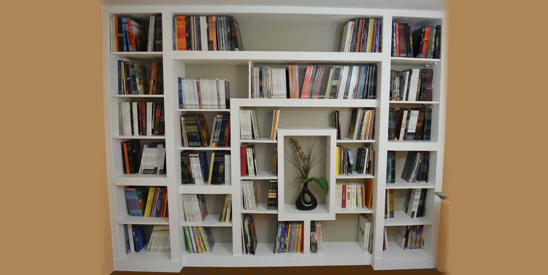 How to build a custom bookcase - Fabriquer etagere bois ...