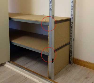 comment am nager un placard. Black Bedroom Furniture Sets. Home Design Ideas