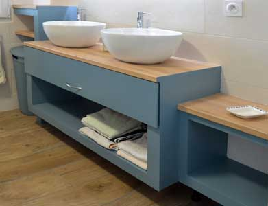 build a large drawer for bathroom cabinet 1