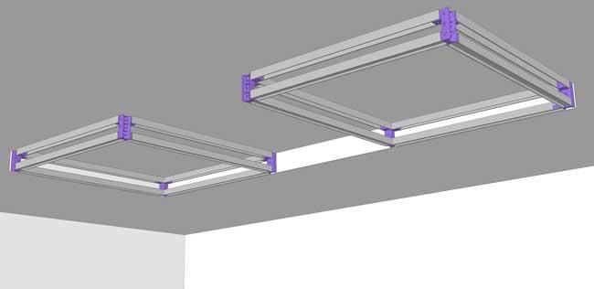 kit pour fabriquer coffrage placo. Black Bedroom Furniture Sets. Home Design Ideas