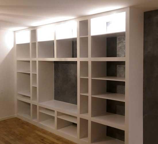 photo fabriquer meuble tele 4 - Grand Meuble Tv Bibliotheque